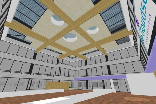 Nieuw dak Artrium Goudse verzekeringen